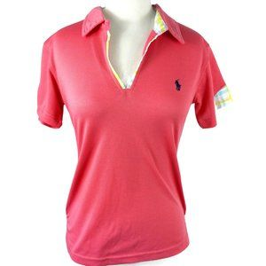 Polo by Ralph Lauren Ladies Pink Golf Shirt, Med